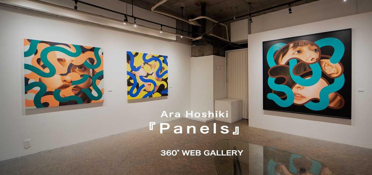 荒星輝 個展「Panels」- Art and Pulse